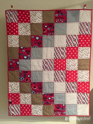 Little Sailorboy (babyquilt)