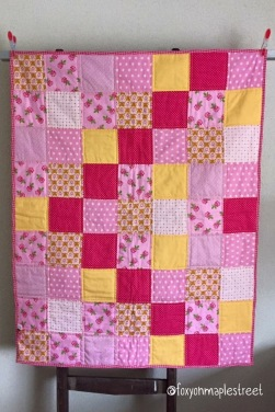 Little Miss Sunshine (babyquilt)